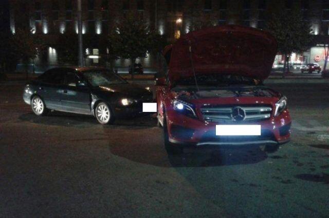 ВСтаврополе столкнулись иномарки изКраснодара и здешняя: пострадали трое