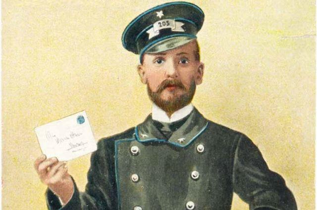 Каждый день почтальоны разносят сотни писем.