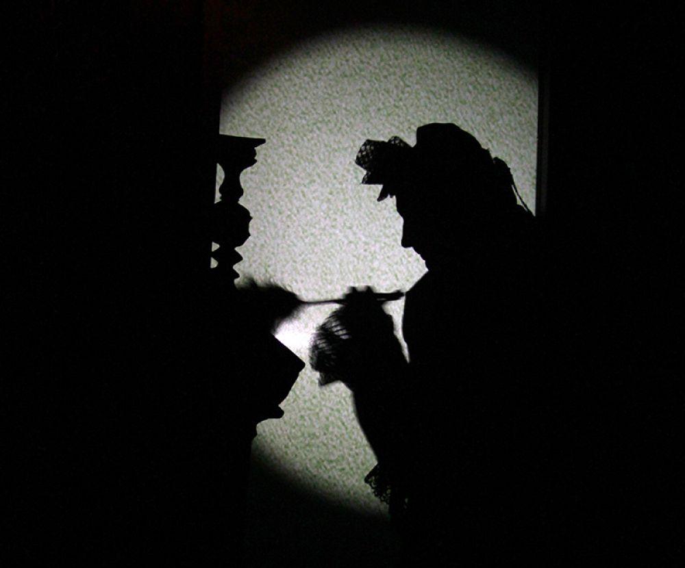 Прежде чем актёры вышли из тени, началась дискуссия о вампирах…