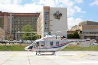 В Тюменской области на борту вертолета санавиации умер ребенок