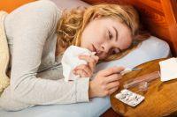 Омичи пока не болеют гриппом.