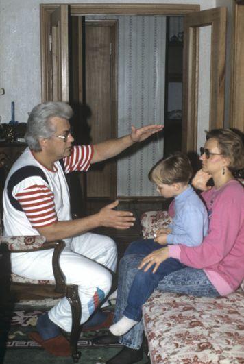 На приеме у Чумака. 1991 год.