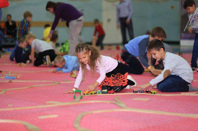 В Тюмени состоялась вторая семейная игротека «Конструктория»