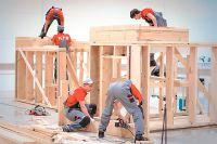 Студенты колледжей могут построить дом не только на соревнованиях.