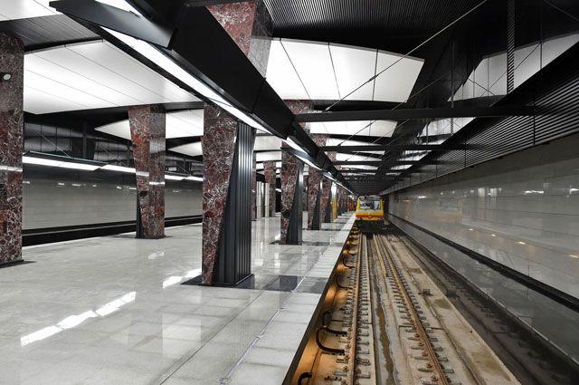 Вполицию украинской столицы поступил звонок оминировании станции метро