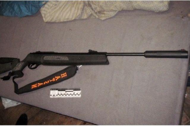 В Ташлинском районе школьник подстрелил друга.
