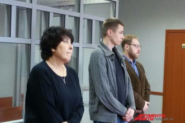 Дмитрий Дымбрылов взят под стражу в зале суда.
