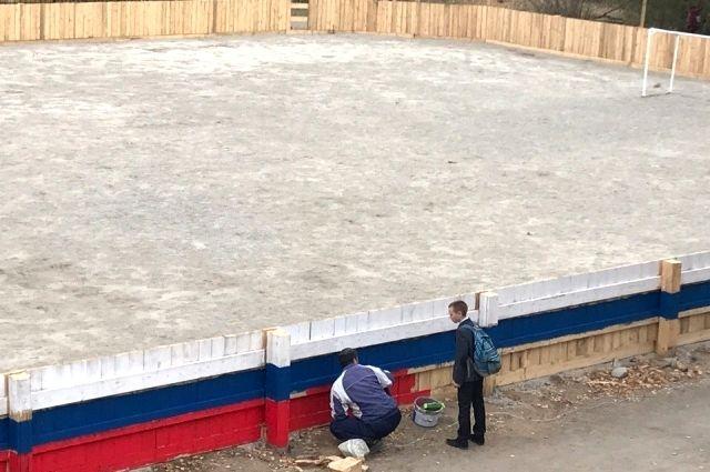 Школьные стадионы в Иркутске преображаются.