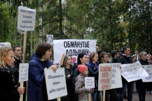 После митинга дела пошли в ЖК «Солнечном» значительно быстрее.