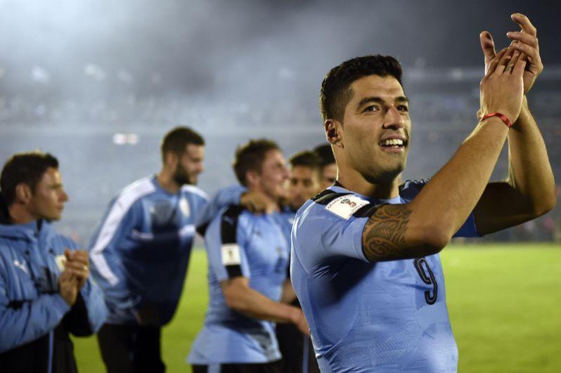 Луис Суарес. Лидер сборной Уругвая и «Барселоны».