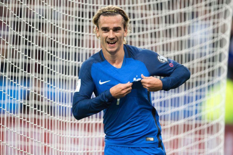 Антуан Гризманн. Лидер сборной Франции и «Атлетико» (Мадрид).