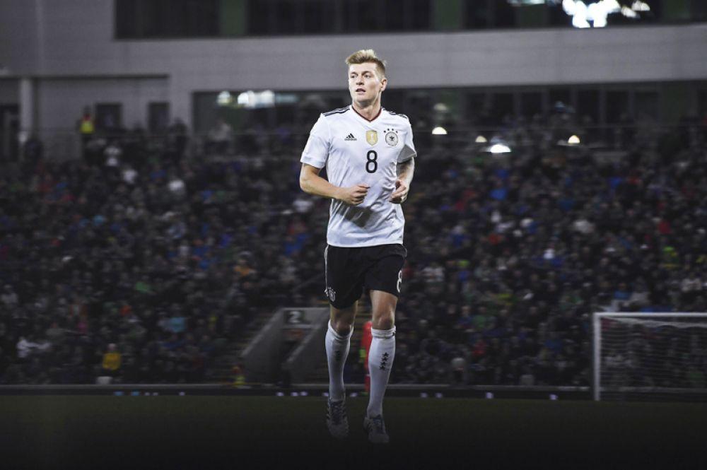 Тони Кроос. Лидер сборной Германии и «Реала».