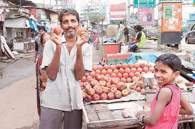 Яблоки раньше были едой богатых.