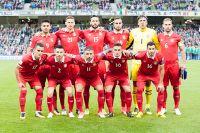 Сборная команда Сербии.