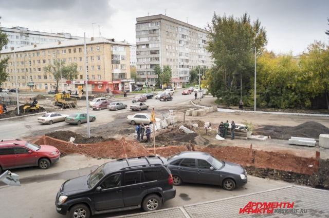 ВКрасноярске на дорогах  Горького иАды Лебедевой ограничивают движение