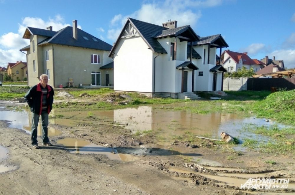 В поселке Рощино и Куликово уровень воды упал на 5-7 см.