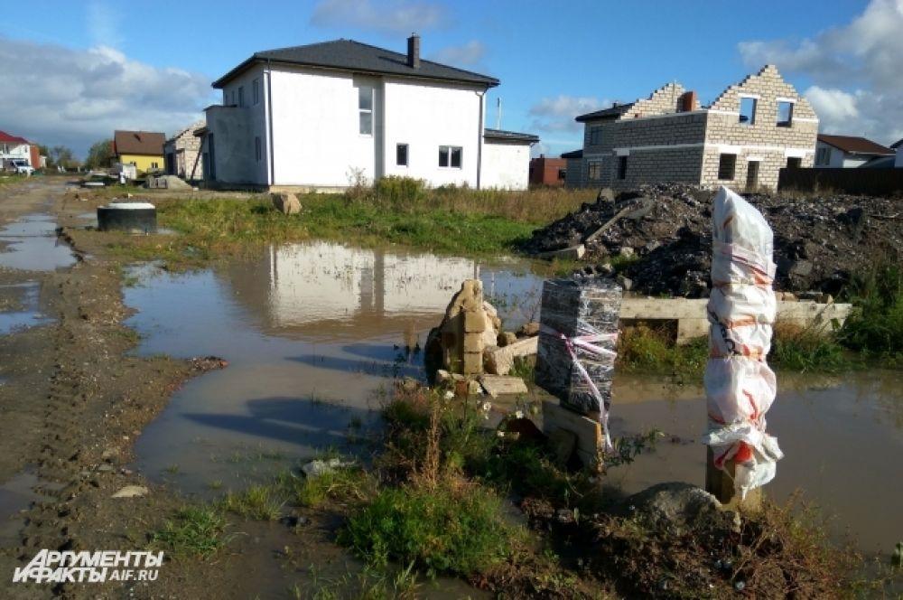 Зеленоградский район пострадал от ливневых дождей больше всего.