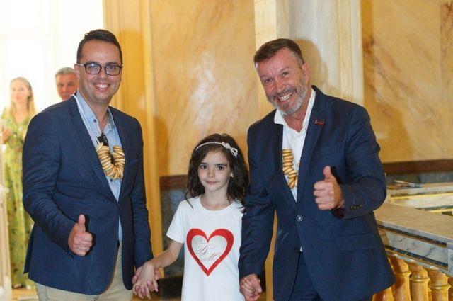 Юная модель из Оренбуржья помогла укрепить дружбу с Францией