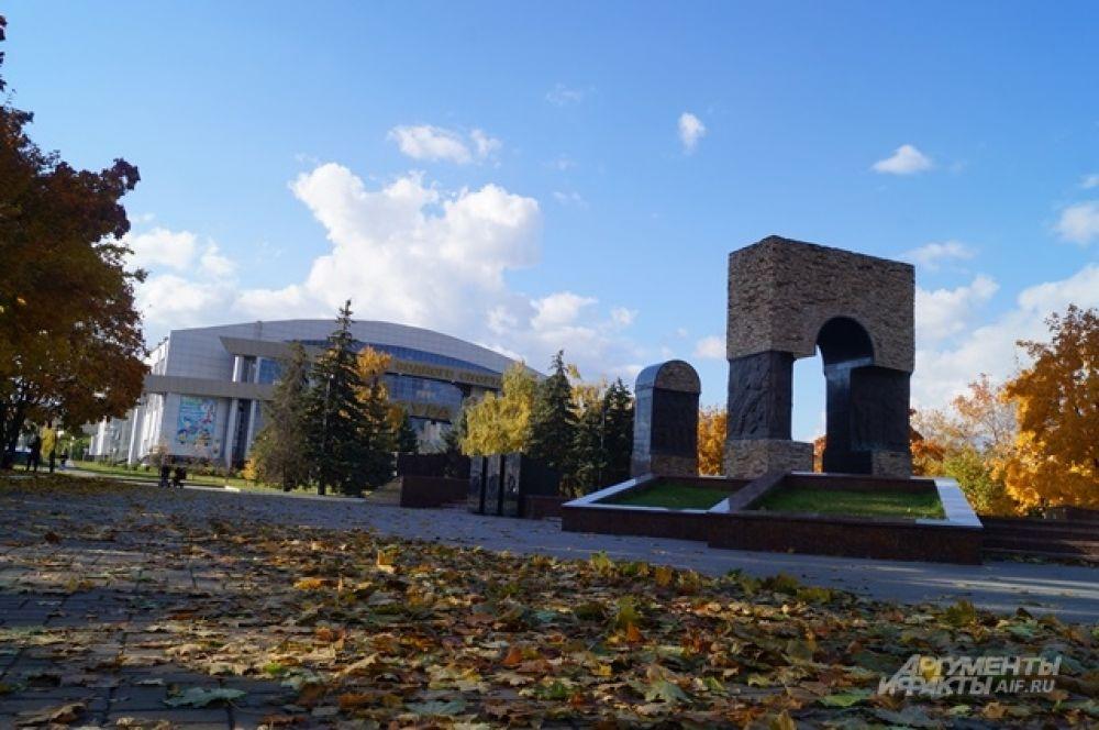 Мемориал «Афганские ворота».