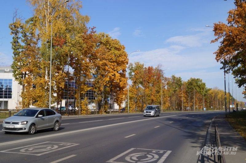 улица Окружная в Пензе.
