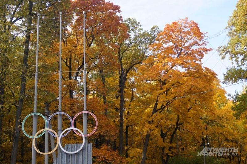 Олимпийская аллея.