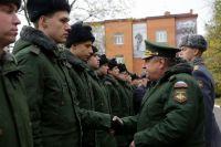 В Омской области началась осенняя призывная кампания.