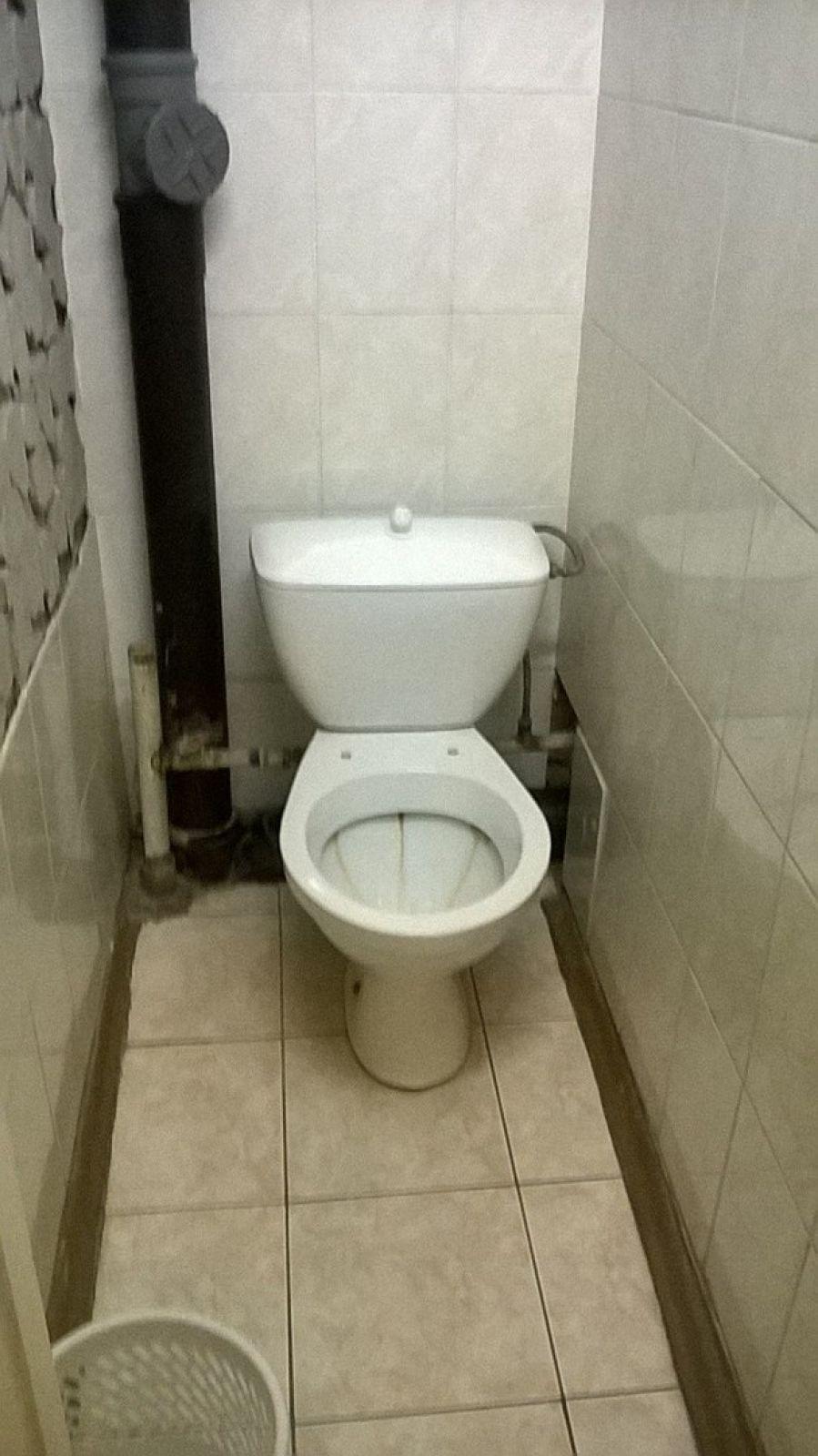 Туалет в общежитии №3.
