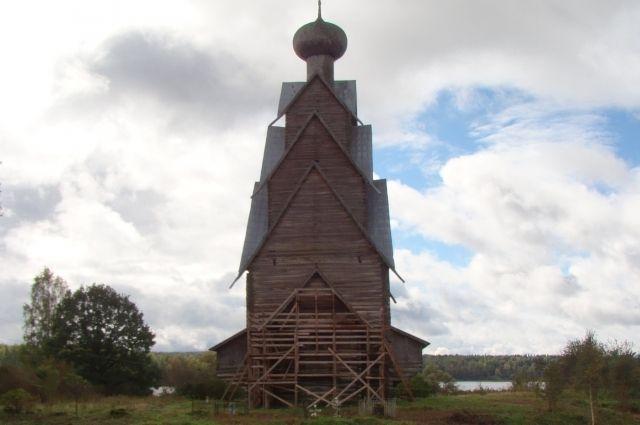 Самая высокая в Европе деревянная церковь Рождества Иоанна Предтечи