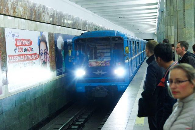 «Невский проспект» ипереход на«Гостиный двор» закрывали на7 мин.