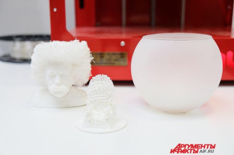 Презентация проектов от студии 3D-печати «Технопарк Пермь».