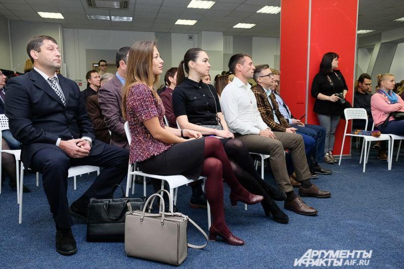 В рамках мероприятий технопарка состоялось открытие коворкинга.