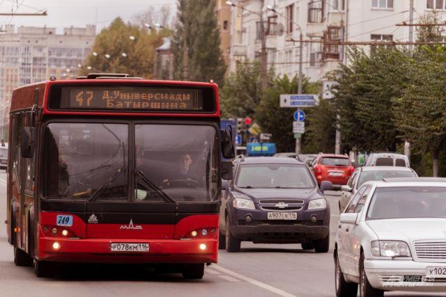 ВКазани автобус насмерть сбил пенсионерку