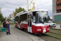 Агрессор вызывал водителя трамвая разобраться на улицу.