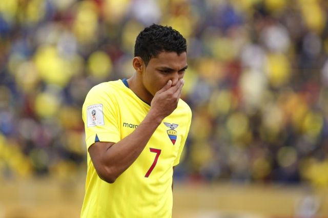 Пятеро футболистов сборной Эквадора дисквалифицированы занеподобающее поведение