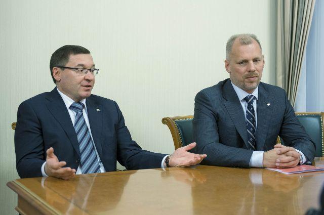 Губернатор Тюменской области обсудил сотрудничество с Danone