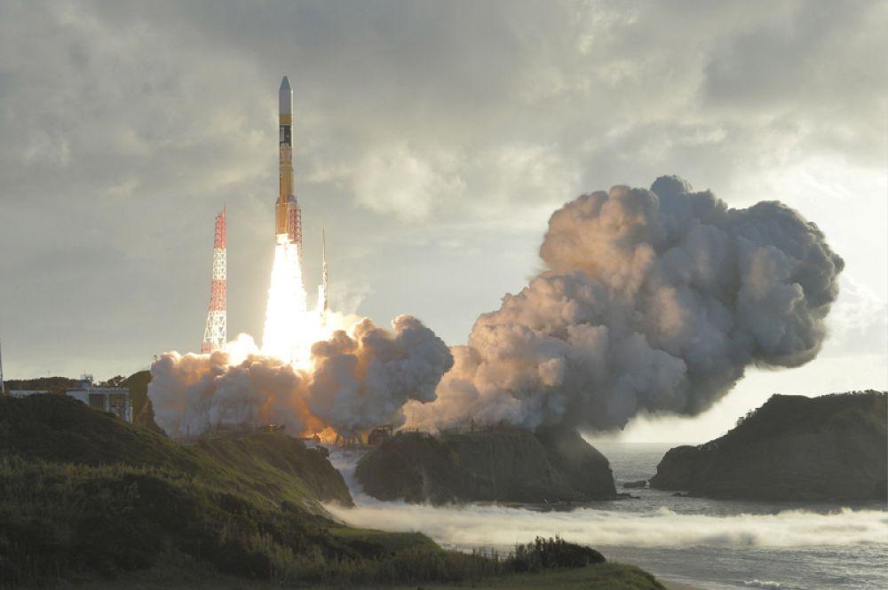 10 октября. Запуск ракеты-носителя Н-2А со спутником Michibiki № 4 с космодрома Танегасима, Япония.