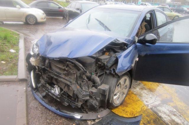 Смертоносная авария произошла наулице Жуковского вНовосибирске