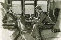 Иллюстрация к книге о Шерлоке Холмсе 1894 года.