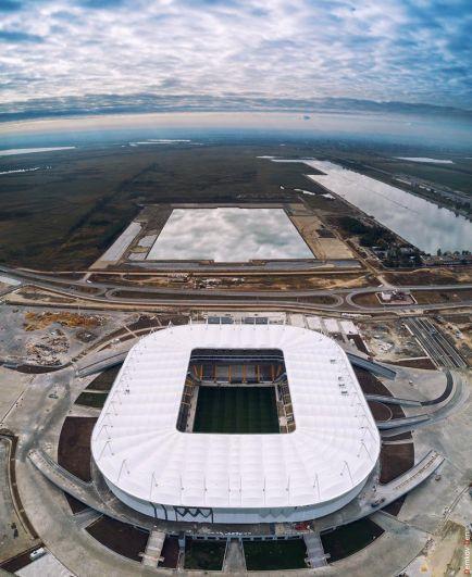 «Ростов-Арена» названа лидером среди всех строящихся к ЧМ по футболу объектов.