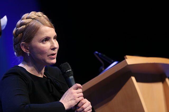 «Ябуду баллотироваться впрезиденты»,— Юлия Тимошенко