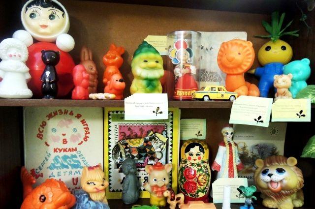В Викулово открылась выставка, посвященная детям, выросшим в СССР