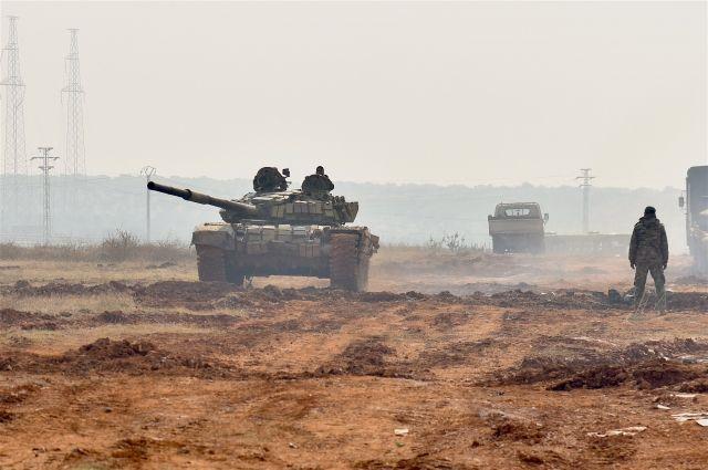 Армия Сирии при помощи ВКСРФ взяла восаду Аль-Маядин