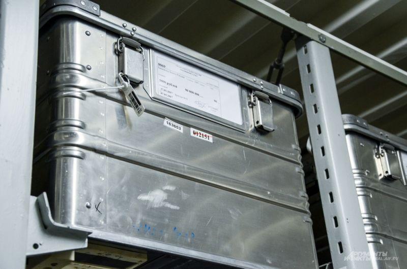 Металлические контейнеры могут весить до 100 кг. Сегодня такие используются в Свердловской области в Нижнем Тагиле.