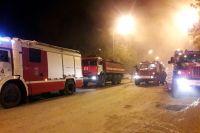 Пожар на Полевой тушили 34 человека, двухэтажный дом сгорел за 15 минут