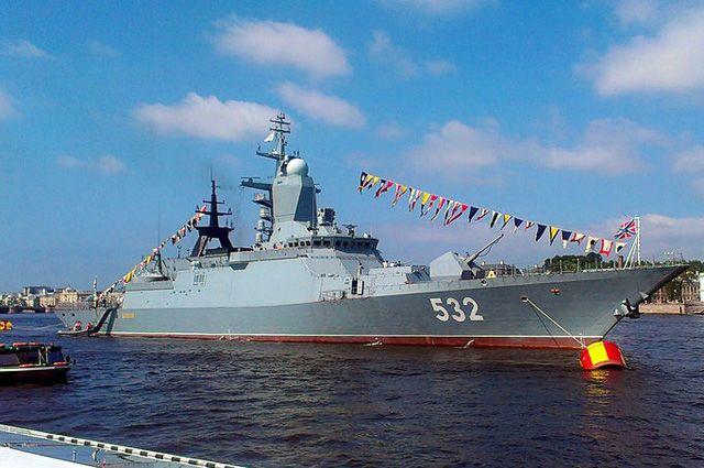 Корветы Балтийского флота направились впоход вАтлантику