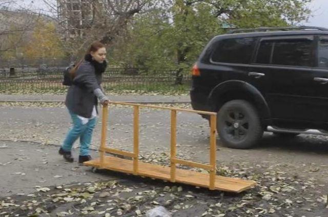 Посуху-3000 выручит пешехода в сложной ситуации.