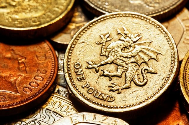 Монету водин фунт стерлингов выведут изобращения вБритании