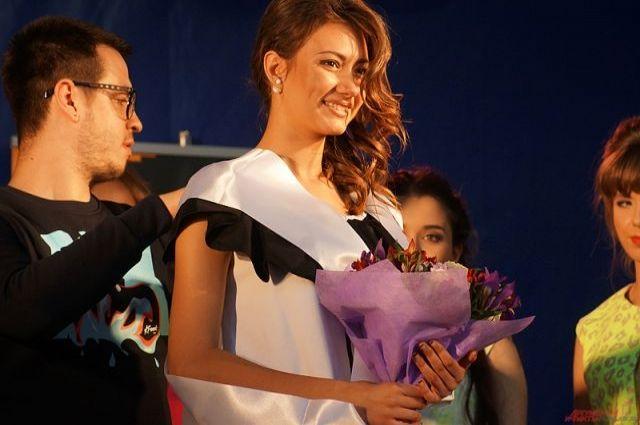 Дарья Хохлова не первый раз успешно выступает на конкурсе красоты.