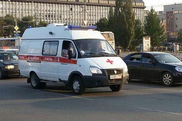 Пострадавшего мужчину доставили в больницу.