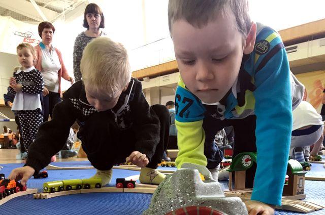 Дети из детского дома посетили городскую «Конструкторию» бесплатно